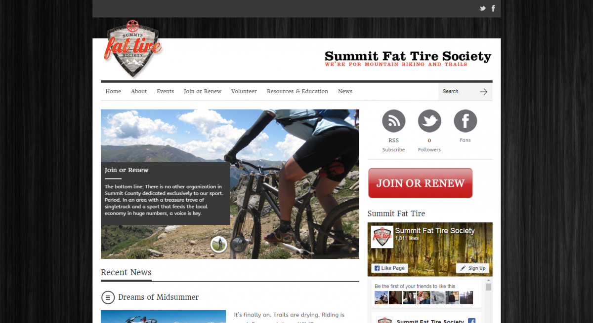 Summit Fat Tire Society