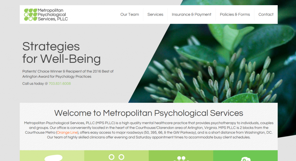 Welcome to Metropolitan Psychological Services