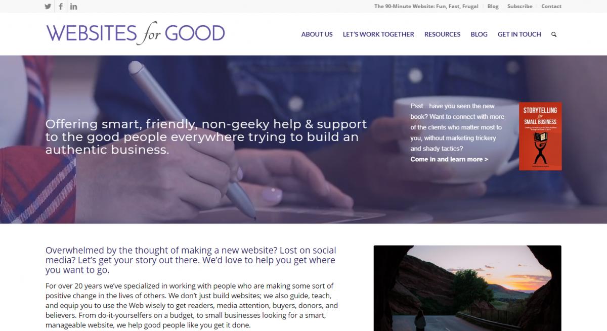Websites for Good