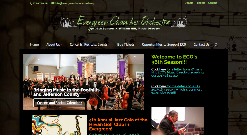 Evergreen Chamber Orchestra