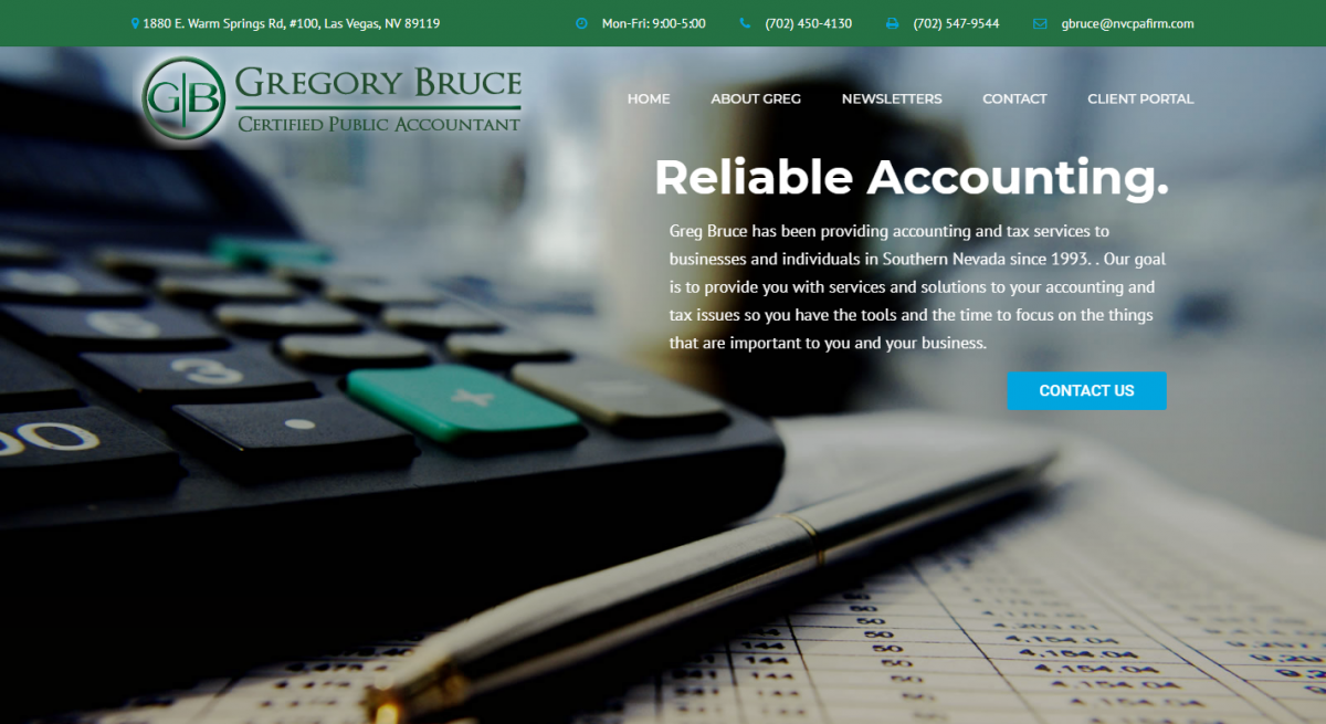 Gregory Bruce, CPA