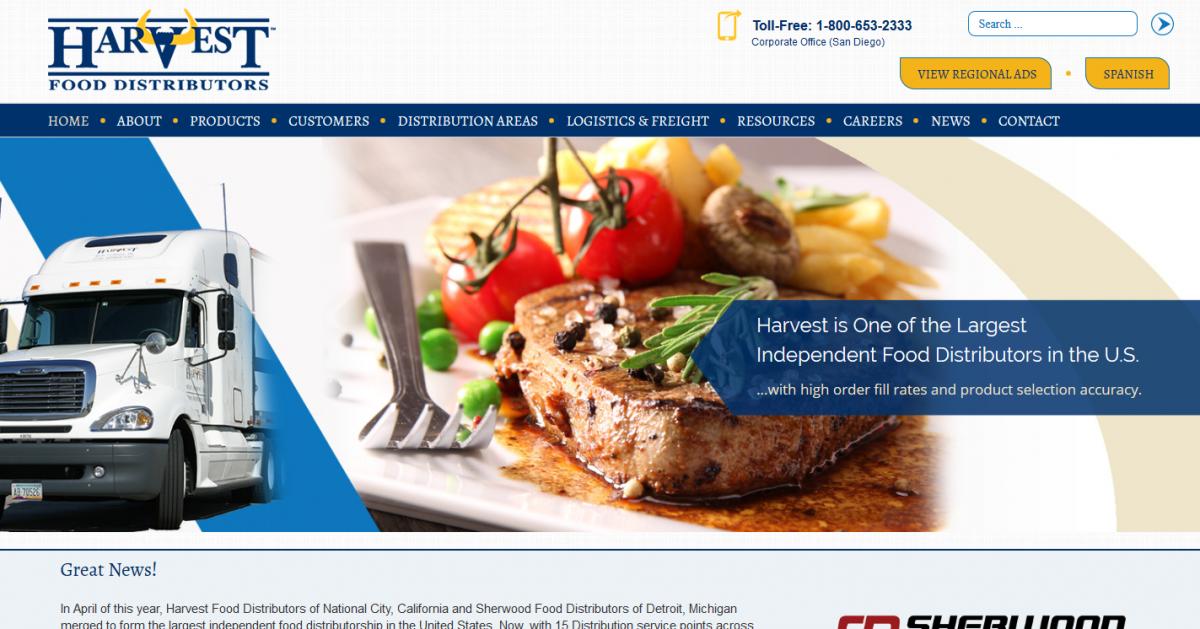 Harvest Food Distributors