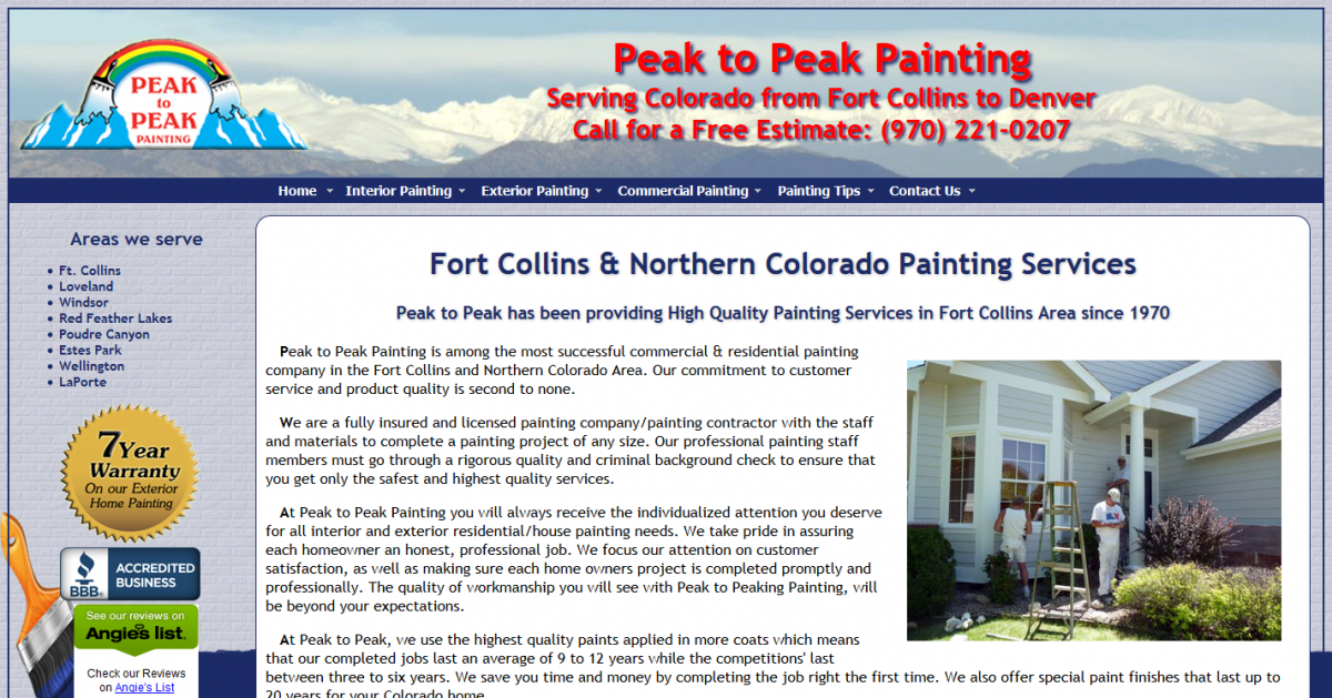 Peak to Peak Painting