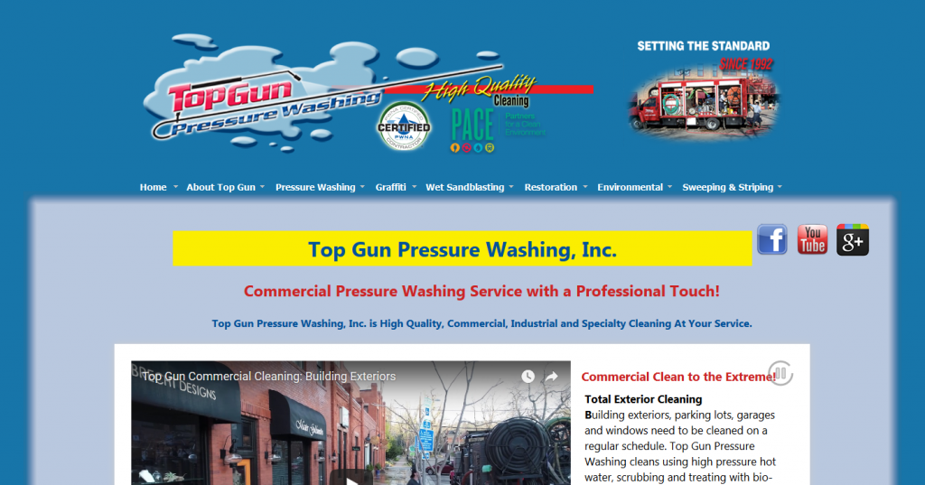 Top Gun Pressure Washing, Inc