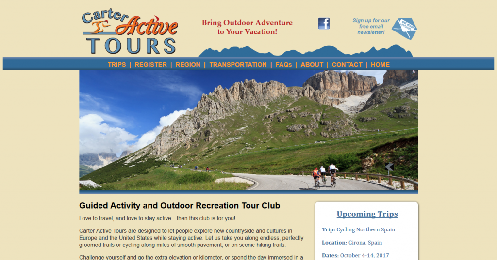 Carter Active Tours