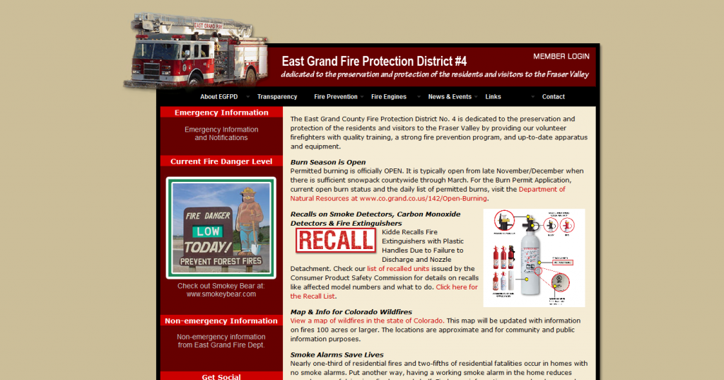 East Grand Fire Protection District