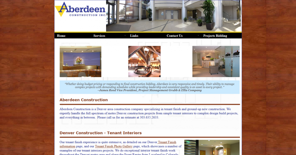 Aberdeen Construction, Inc