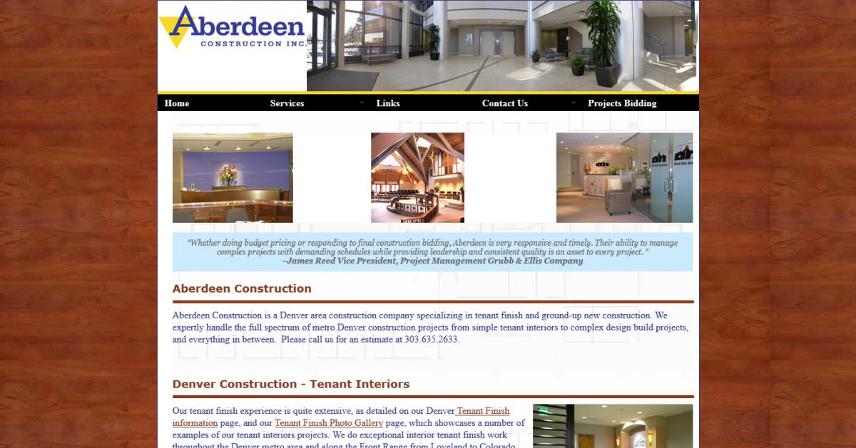Aberdeen Construction, Inc