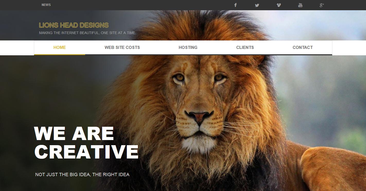 Lions Head Designs