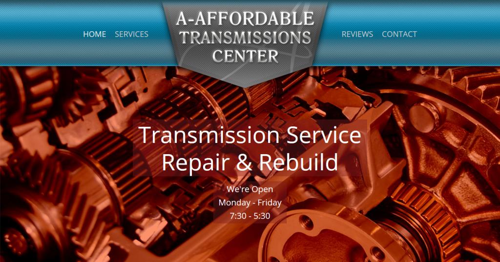 WordPress Site for Auto Transmission Repair Shop