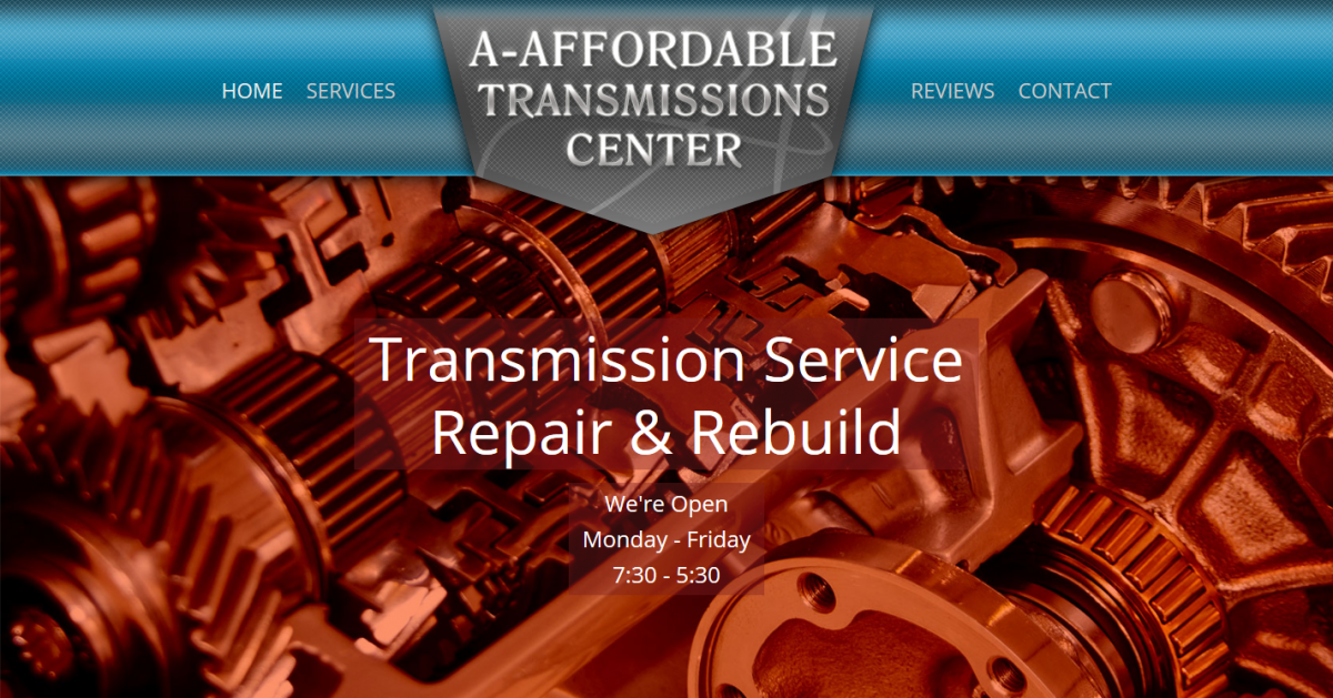 WordPress Site for Auto Transmission Repair Shop