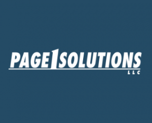 Page 1 Solutions, LLC Logo