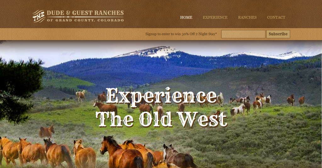 Dude & Guest Ranches