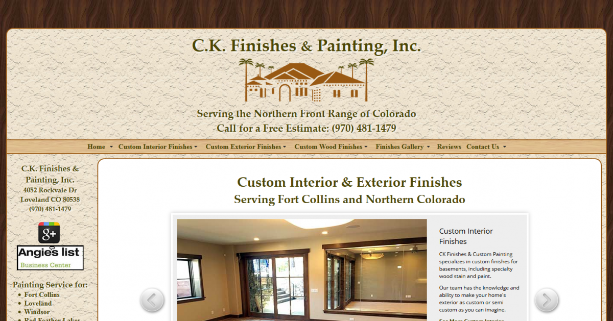 CK Finishes and Painting, Inc