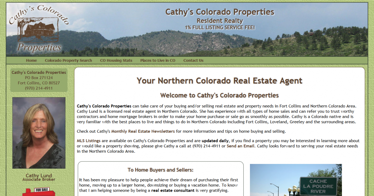 Cathy Lund is a Colorado Real Estate Agent