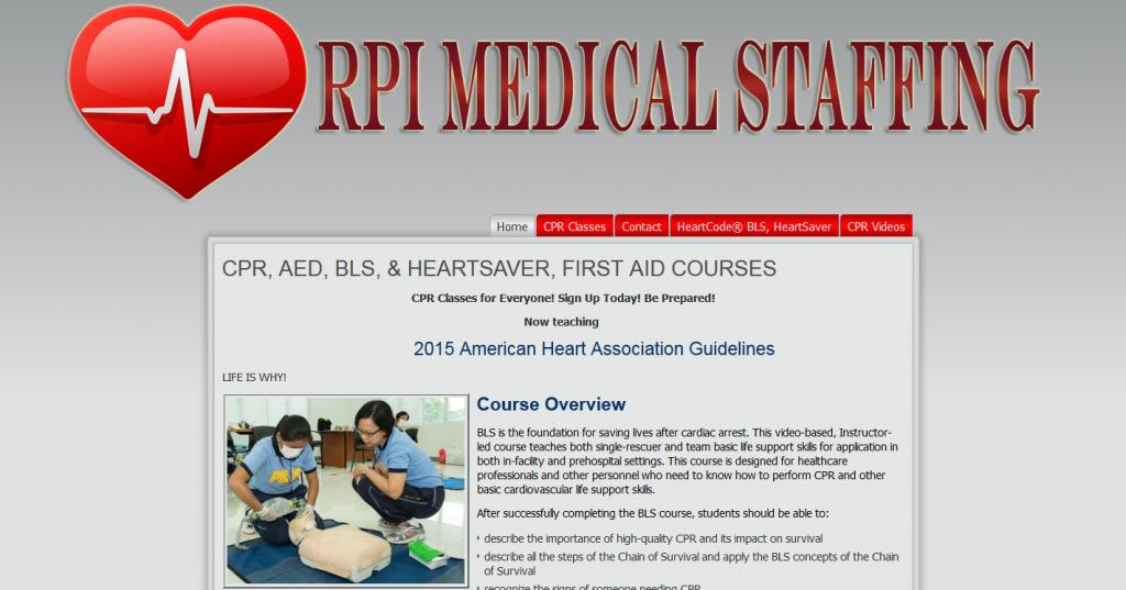 RPI Medical Staffing