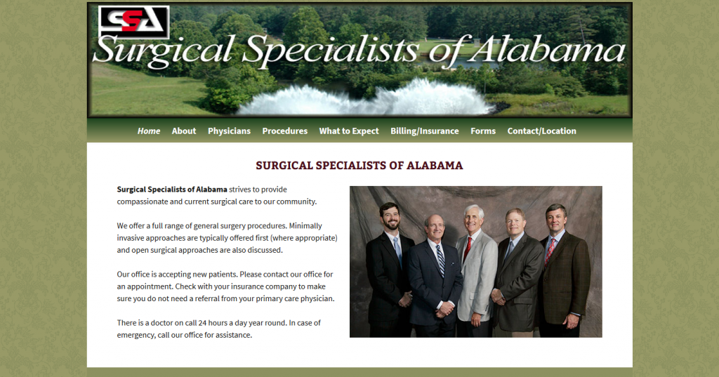Surgical Specialists of Alabama