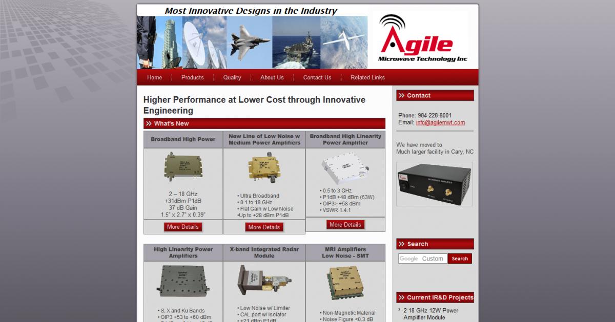Agile Microwave Technology