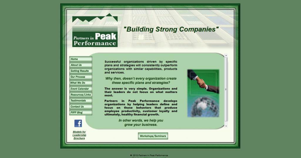 Partners in Peak Performance