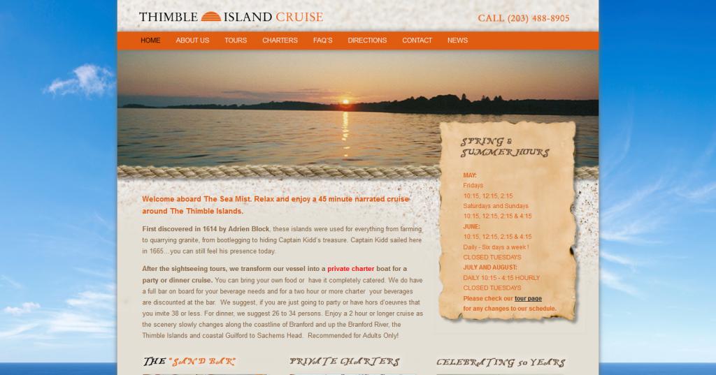 Thimble Island Cruise
