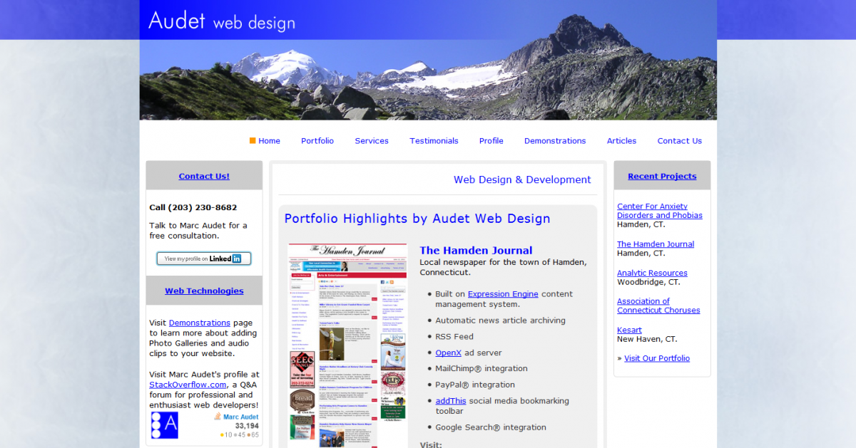 Audet Web Design