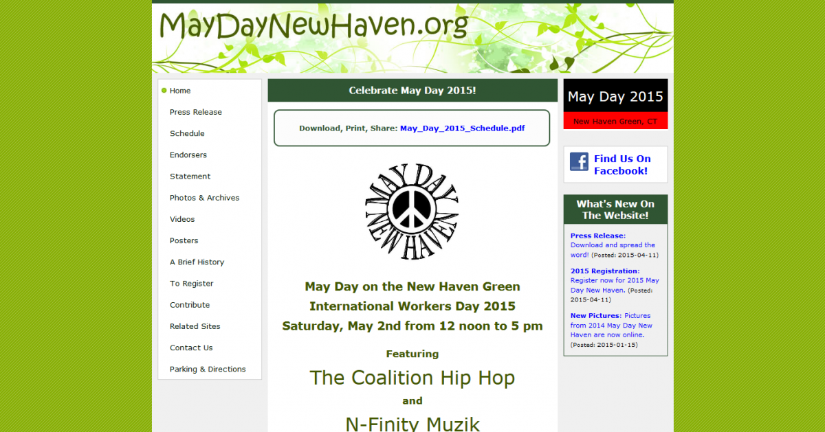 The May Day Celebration Committee