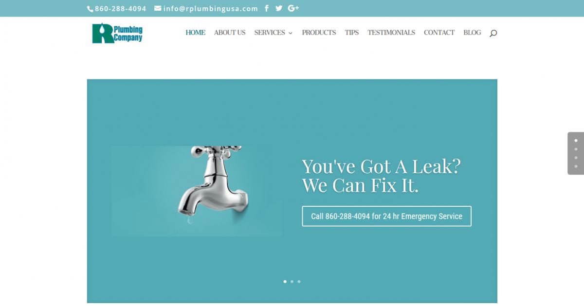 R Plumbing Company LLC