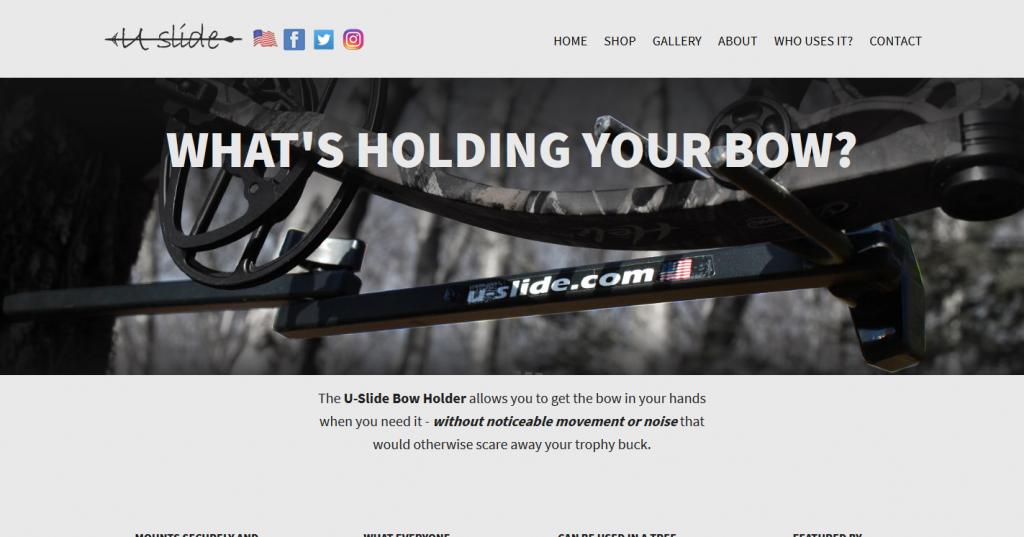 U-Slide Bow Holder