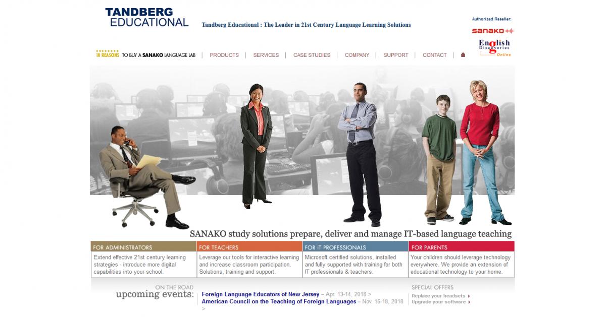 Tandberg Educational, Inc