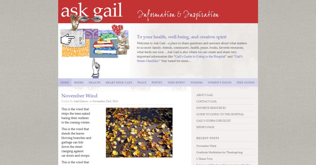 Ask Gail