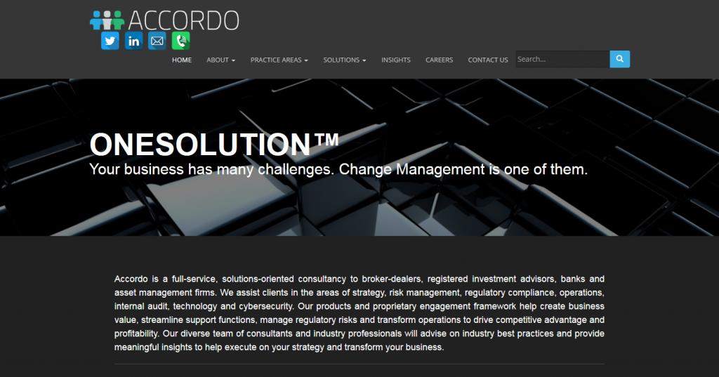 Accordo Compliance Solutions LLC