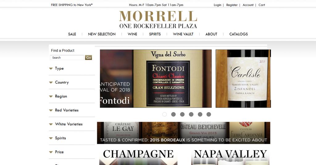 Morrell-Wine-E-Commerce-Store
