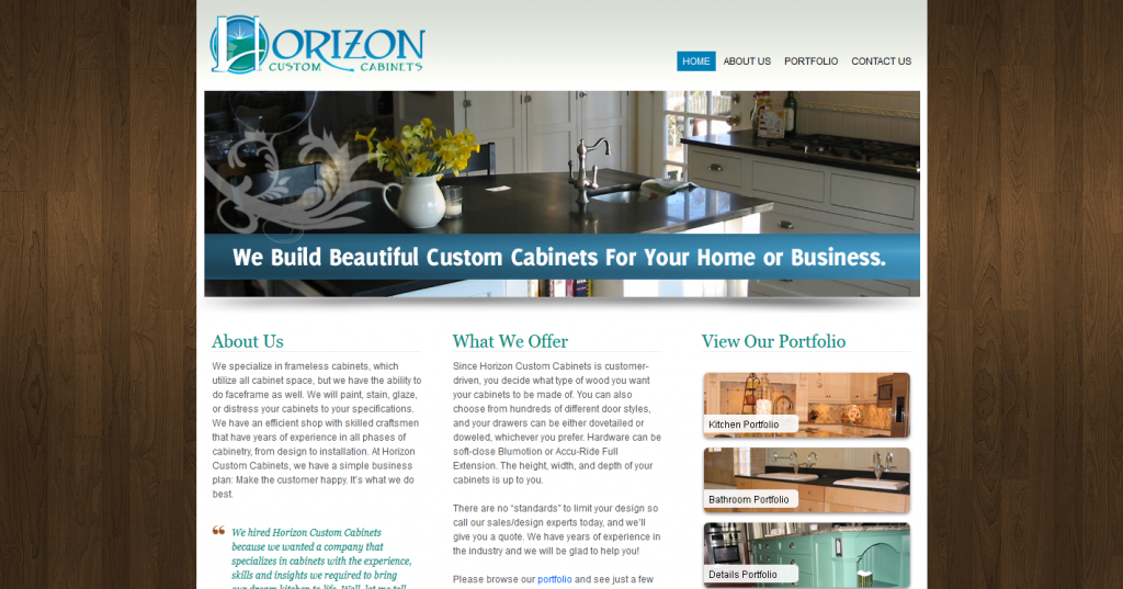 Horizon Custom Cabinets
