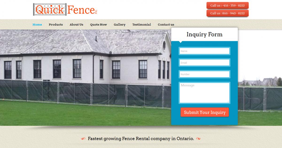 Quick Fence Inc