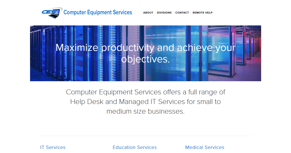 Computer Equipment Services