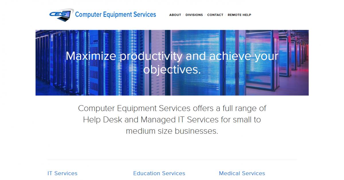 Computer Equipment Services