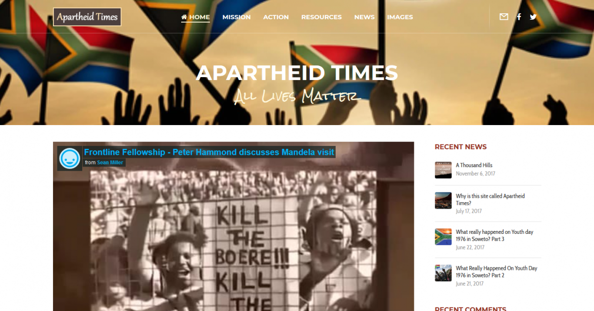 Apartheid Times