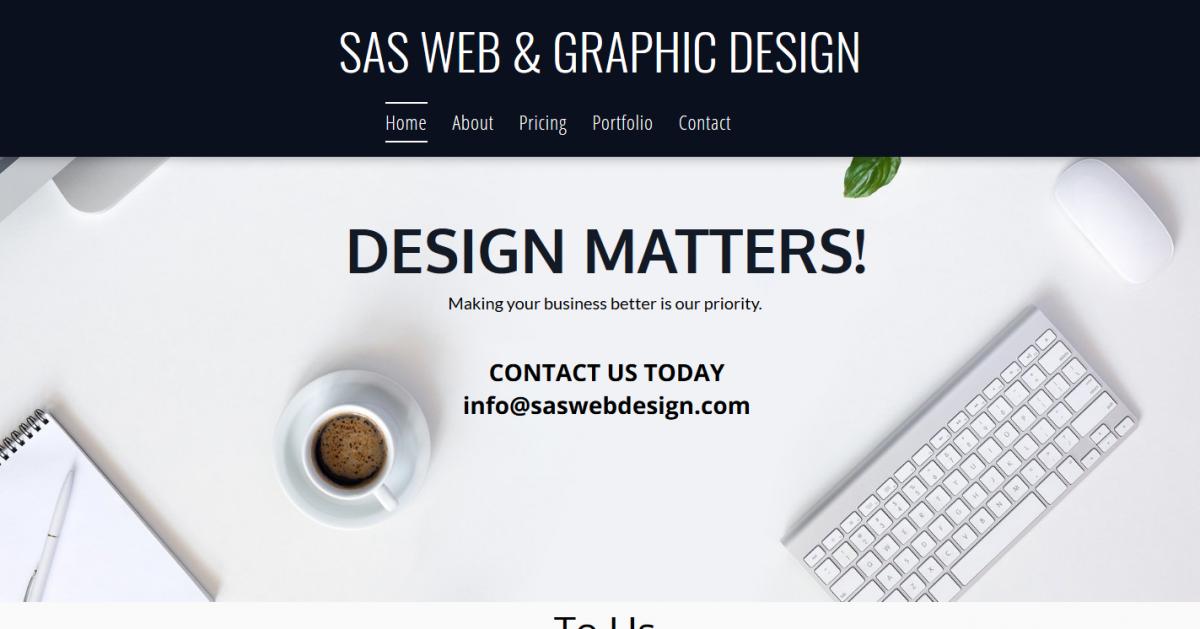 SAS Web & Graphic Design