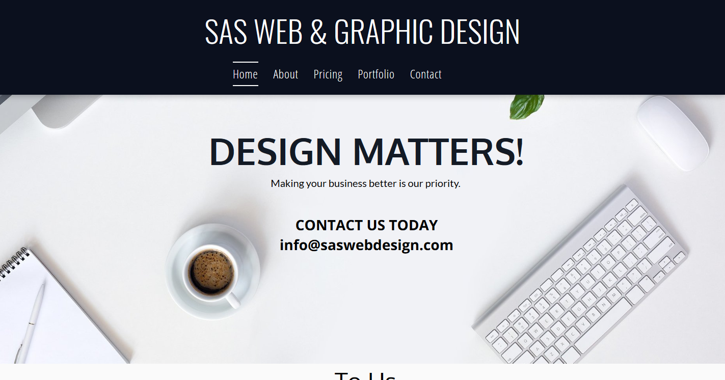 SAS Web & Graphic Design