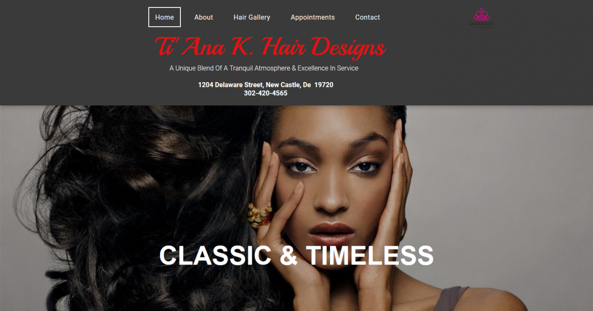 Tiana K. Hair Designs