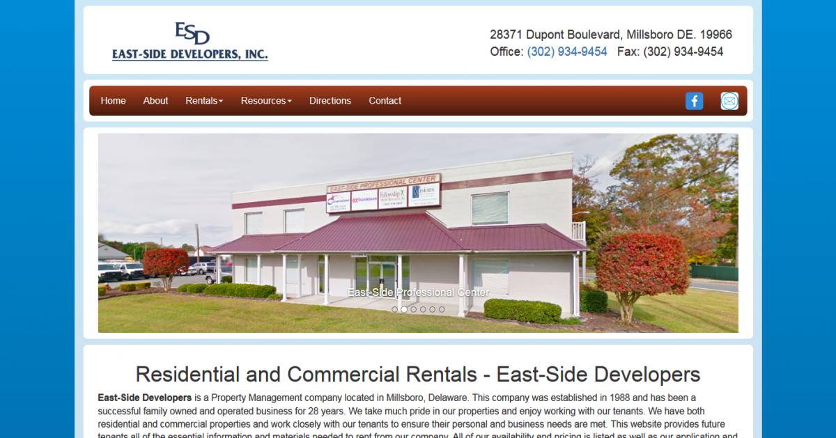 Eastside Developers, Inc.