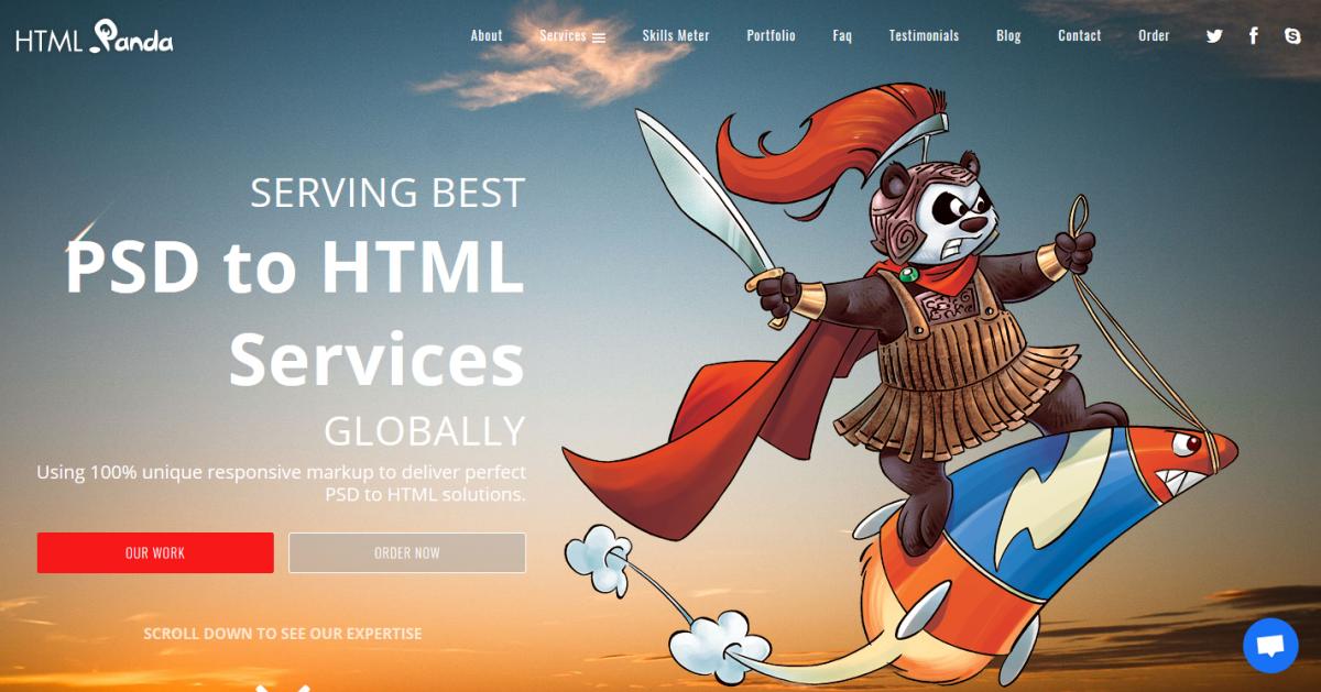 HTML Panda