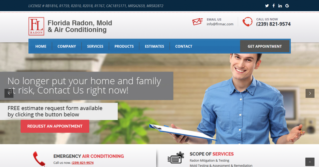Florida Radon, Mold & Air Conditioning