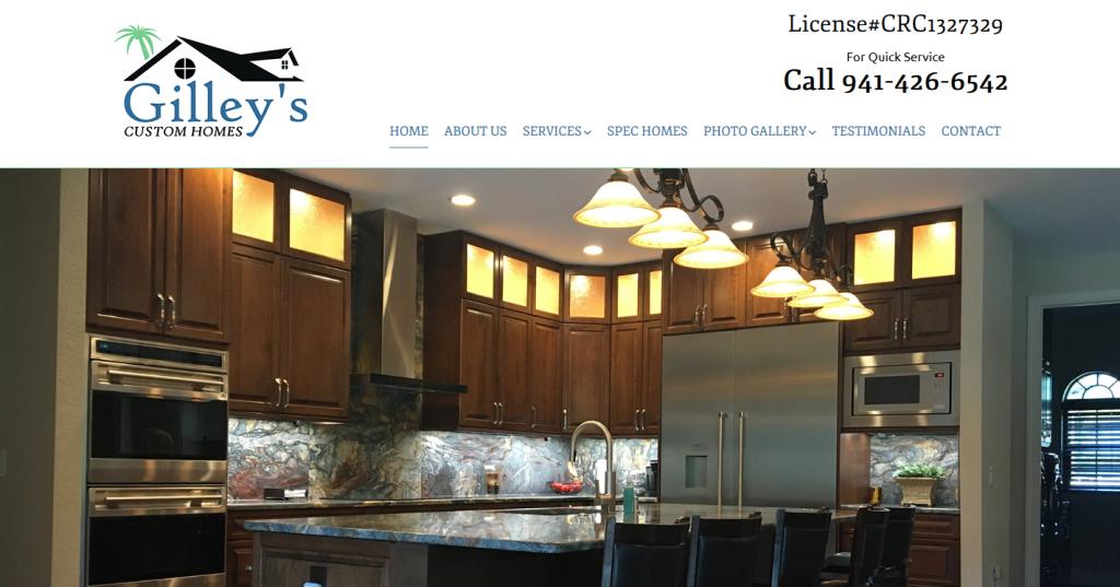 Gilley's Custom Homes – North Port, Florida