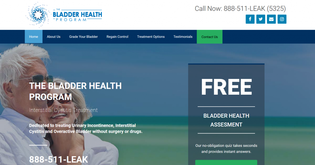 The Bladder Health Program