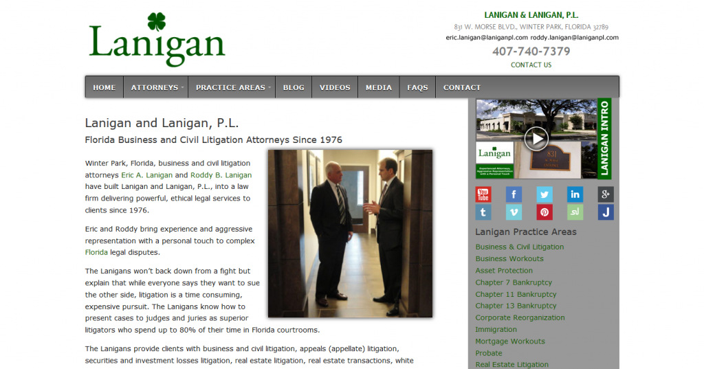 Lanigan & Lanigan, P.L.