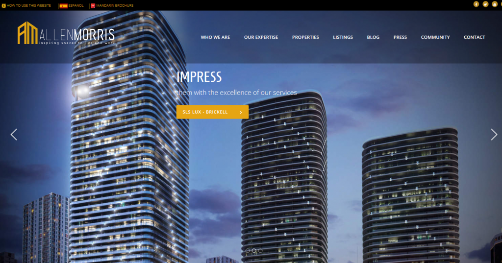 Allen Morris Web Design