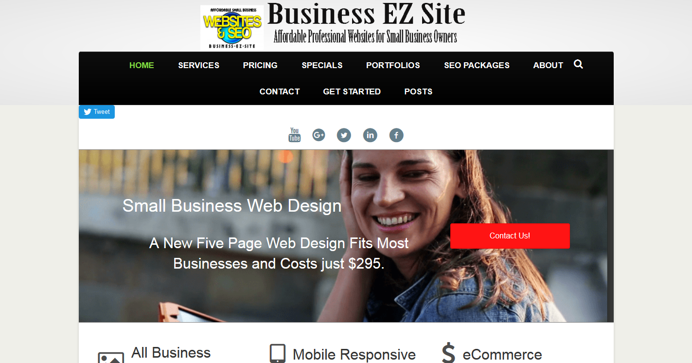 Business EZ Site