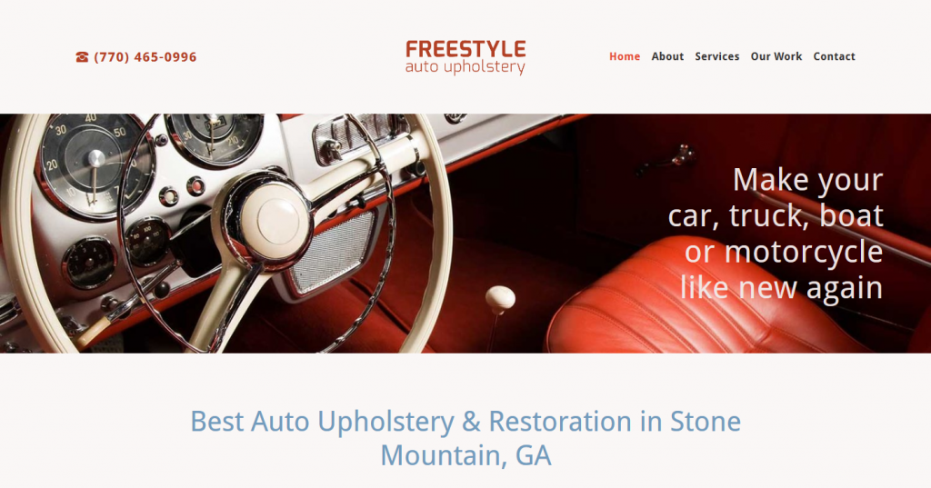 FREESTYLE AUTO UPHOLSTERY