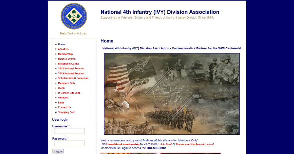 4th Infantry (IVY) Division Association